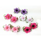 HA2064 NEW  SPRING  FLOWER BABY  BARRETTE
