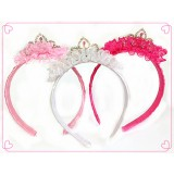 HA3020-CRYSTAL TIARA HEADBAND