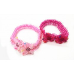 HA4103-DOUBLE FLOWER  BABY STRETCHY HEAD BAND