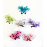 "NF107-1.25"" BUTTERFLY HAIR BARRETTE"